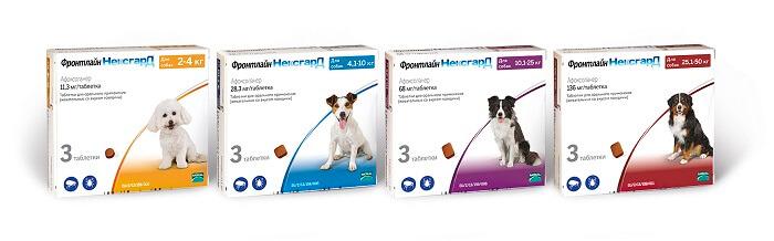 таблетки против блох у собак