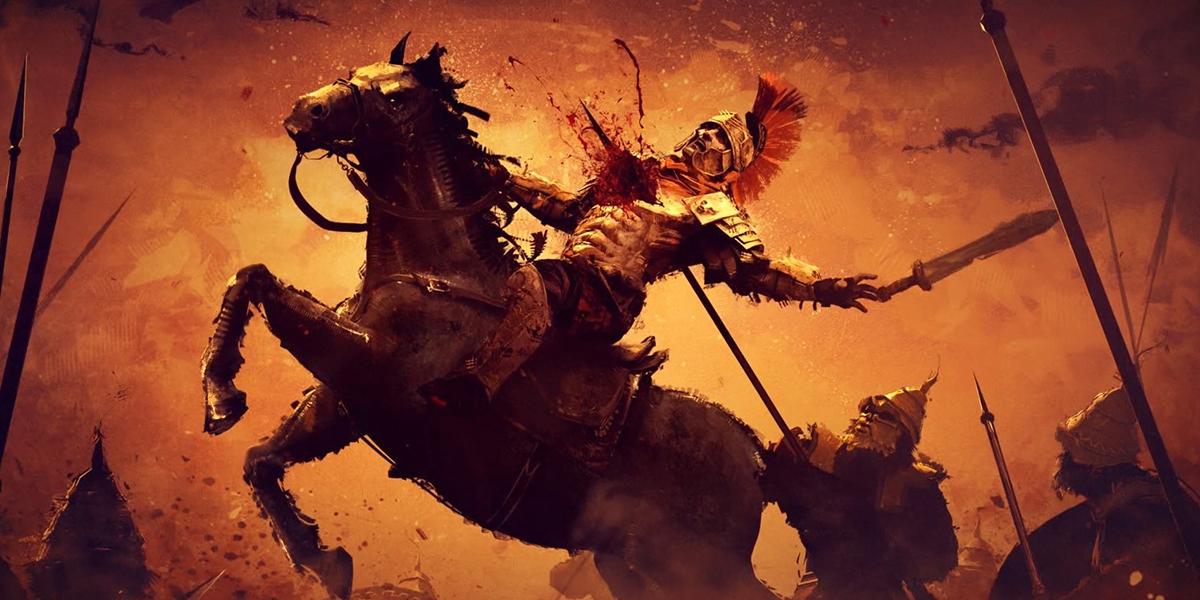 Лошадь и легионер