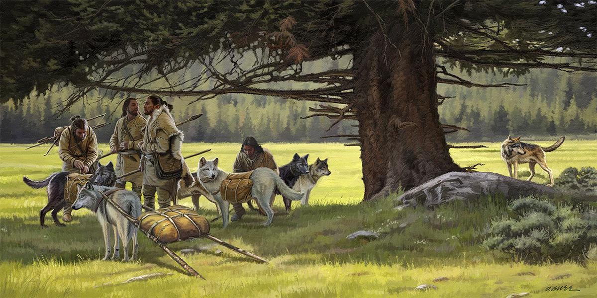 Древние собаки